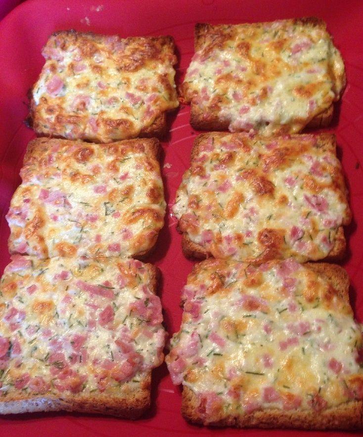 Flammkuchen-Toast – Rezept   Frag Mutti