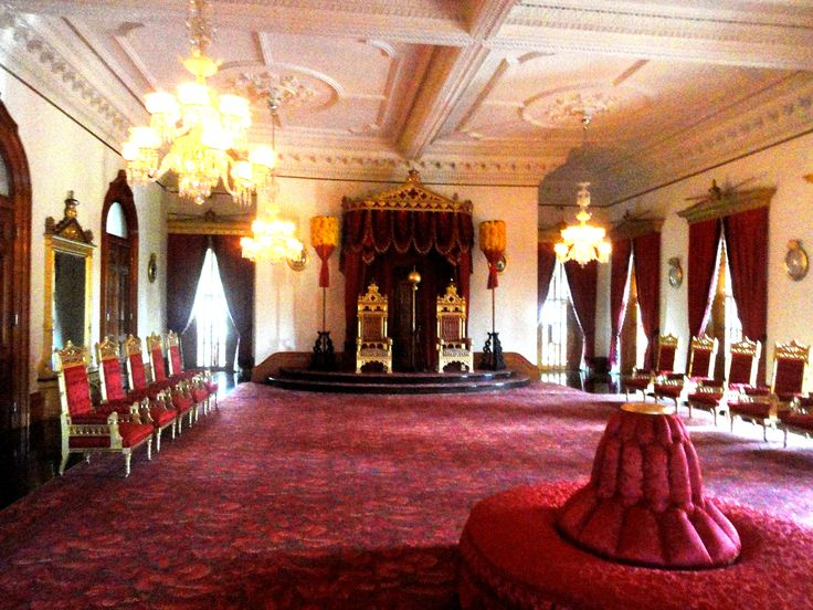 Throne Room - Iolani Palace - Honolulu, Hawaii