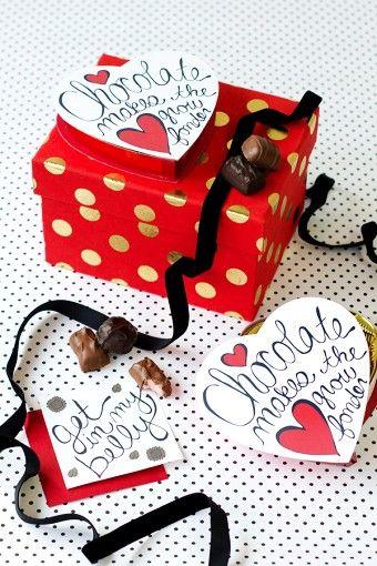Wii vont ensemble: le chocolat M IIS pour Saint Valentin | nourriture sucre pop
