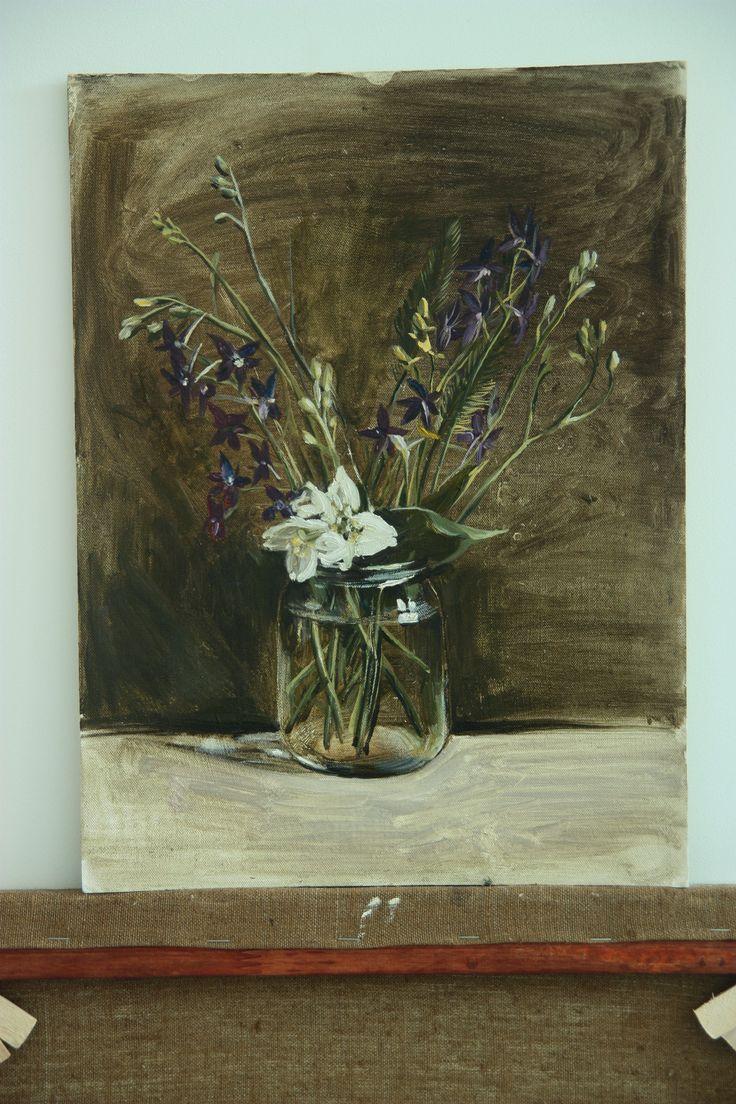 #flower#flowers#stil life#floral stil life#art#paint#oil paint#painting#oil