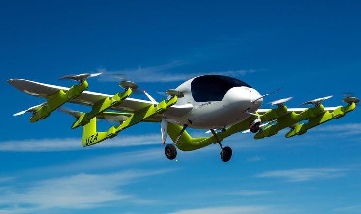 Larry Page's autonomous air taxi 'Cora' flies in New Zealand