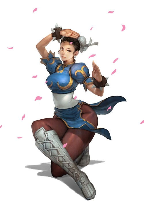 Chun-WOW I mean Chun Lee!