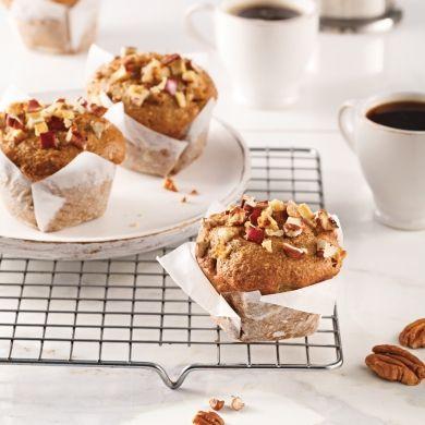 Muffins aux pommes et cannelle - Recettes - Cuisine et nutrition - Pratico Pratique