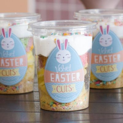 Baby Easter Cheesecake with ZOO cookie base   The Velvet Cake Co
