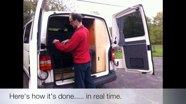 Kiravans Barn Door Awning For Vw T5 Campervans Vw T5