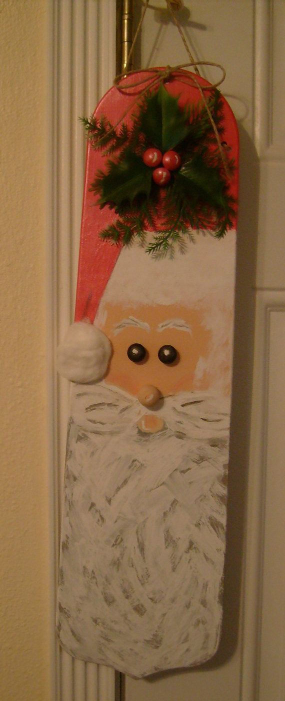 Santa Claus Hand painted Ceiling Fan Blade by MoMoBsBoutique, $25.00