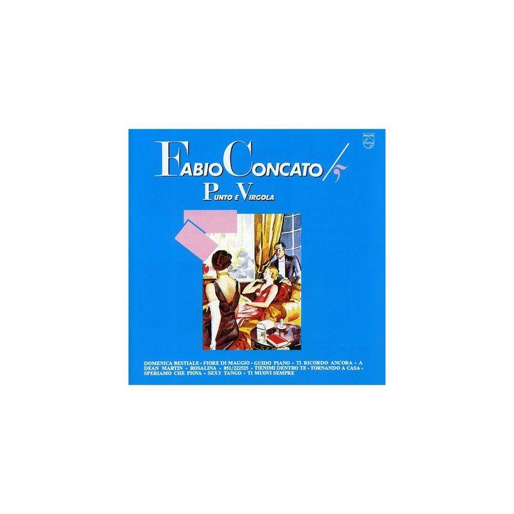 Fabio Concato - Punto E Virgola (CD)