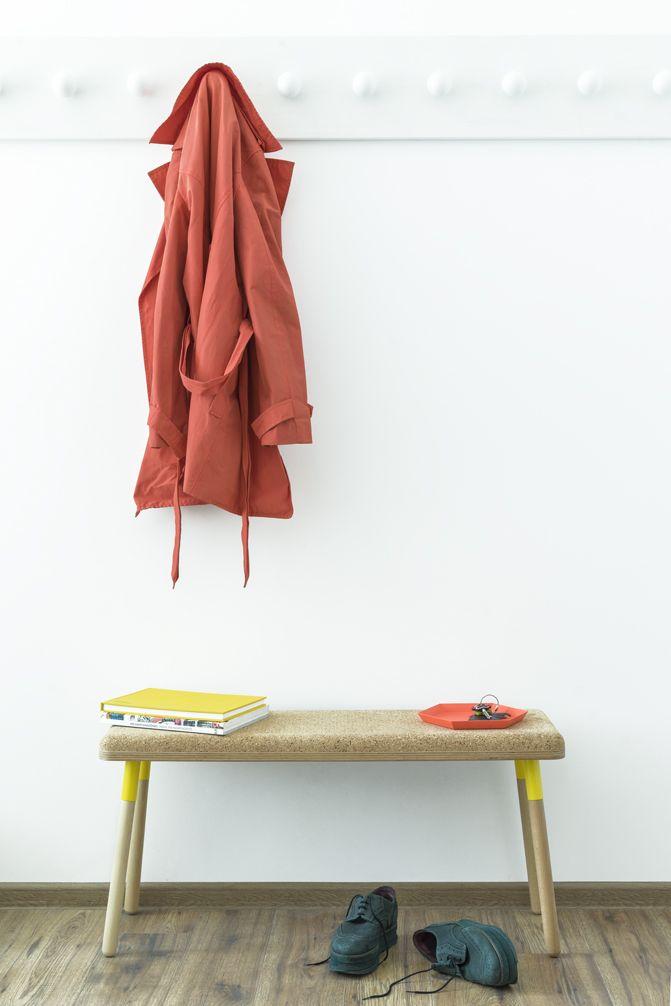 Marco bench Design: Dragos Motica 2016 catalogue Photo: Sebastian Oros