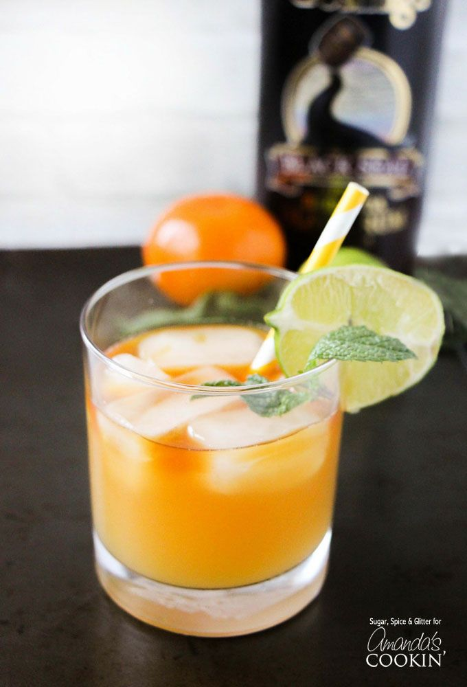 This simple and basic Mai Tai Cocktail recipe is easy to make and has delicious mix of almond, lime, and tropical fruit flavors. Great for summer!