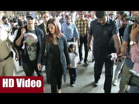 WATCH Akshay Kumar, Twinkle Khanna with cutie daughter Nitara at Mumbai Airport. Click here to see the video >>> https://youtu.be/B4xSsDeb9DE #akshaykumar #twinklekhanna #bollywood #bollywoodnewsvilla