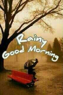 Rainy day Good morning