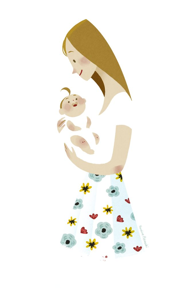 Mother's Day 2015 - Karoline Pietrowski Illustration