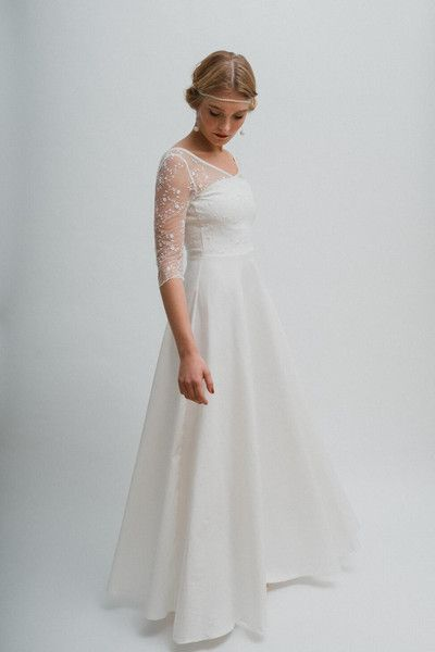 16 best Brautkleider images on Pinterest | Wedding dress, Kleding ...