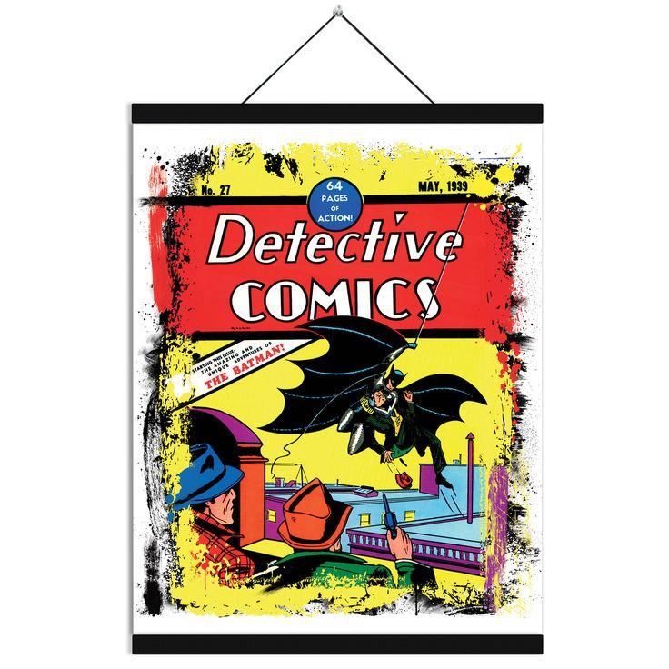 Batman canvas detective comics batman canvas 1939 batman