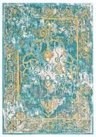 Blend Rug in Turquoise design by BD Fine – BURKE DECOR