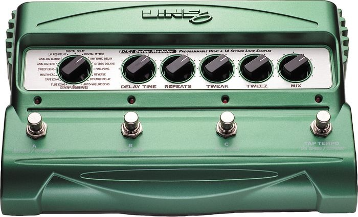 Line 6 DL4 Delay Guitar Effects Pedal  DL4 Delay Guitar Effects Pedal