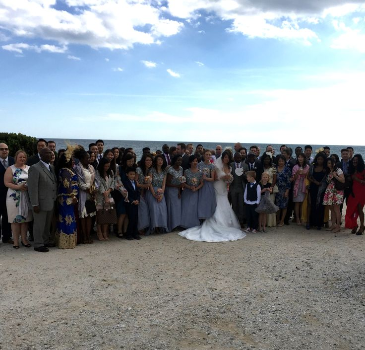 Wedding Guests at Sunset Beach Club.