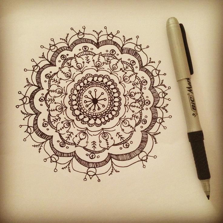 2142 Best Drawing Mandalas Images On Pinterest