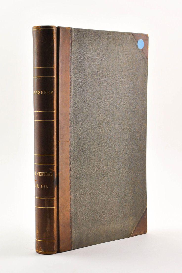Maine Central Railroad Company Capital Share Transfer Records 1862-1863