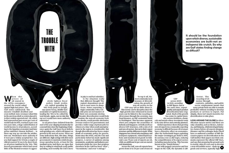 Amazing use of typography. Women of Graphic Design - Nadia Méndez (Mexico) Layouts for Bloomberg...