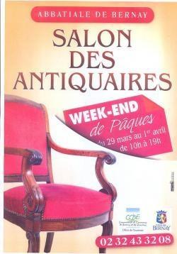 """""""Enième """"Salon des antiquaires de Bernay ce week-end..."""