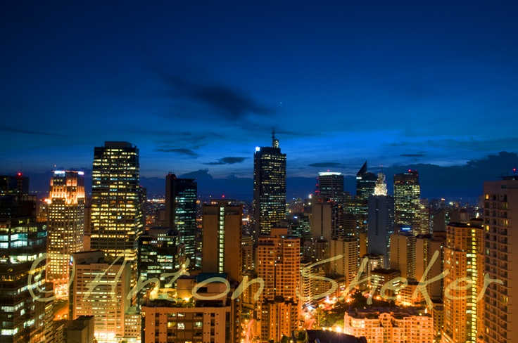 """Makati City, Philippines, we stayed here for our """"honeymoon""""!"""