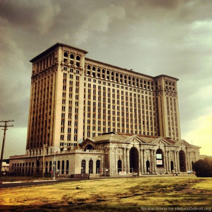 Most Haunted Places In Tuscaloosa Alabama: Morning At Michigan Central Station, Detroit. Closed In