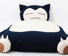 Rest your weary body like a true Pokemon master after you swap out your bed for the Snorlax bed. Better than any king size bed on the market, this handmade Snorlax bed utilizes the superfluous blubber to provide a cozy sleeping spot.