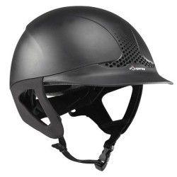 Casques, bombes Equitation - Casque d'équitation Safety noir FOUGANZA - Equipement du cavalier BLACK