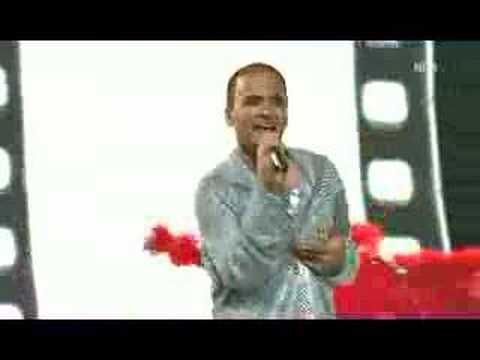 Eric Papilaya - Eurovision Song Contest 2007 AUSTRIA - YouTube