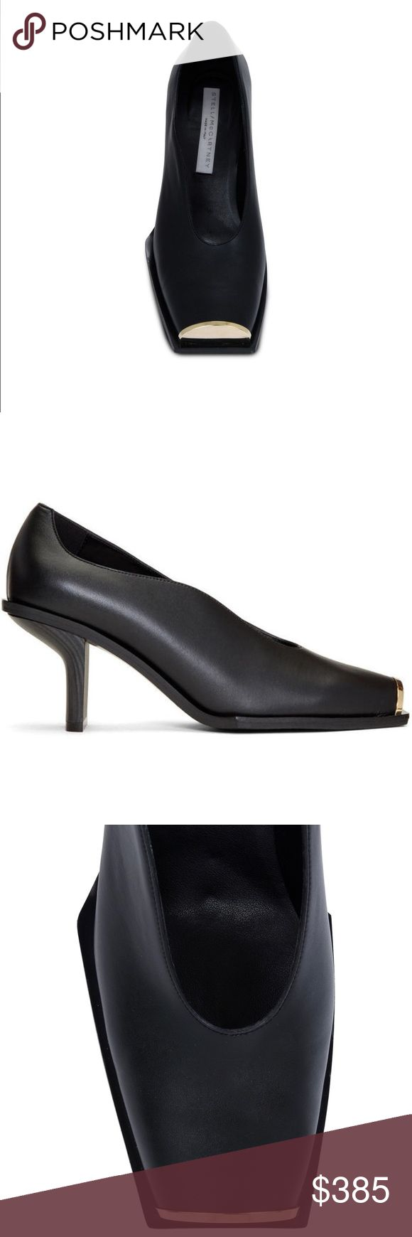 Stella McCartney Black Alter Nappa Pumps Brand new, never worn. Moving sale. No shoe box.  Size 37.5 I wear 7.5-8 and this fit me perfectly.   I'm selling the black one but attached some pics people model in different color for reference.   • 7 cm/2.8 in heel • Made in Italy Stella McCartney Shoes Heels