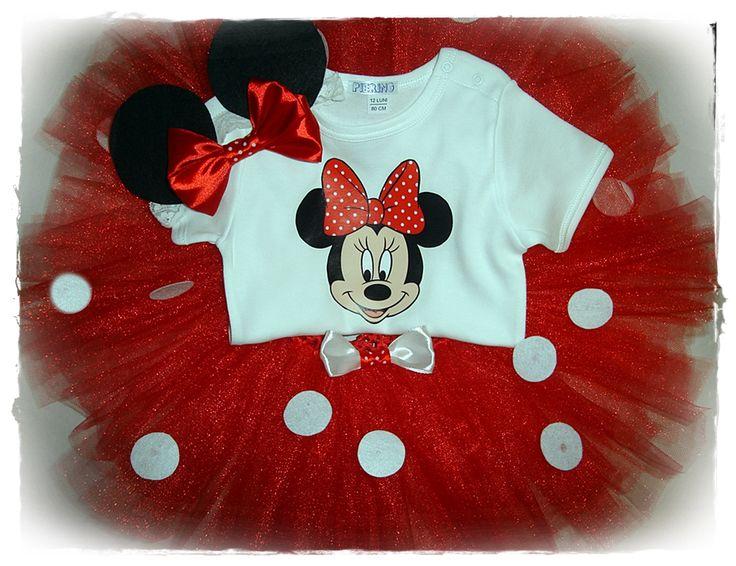 """Set Tutu personalizat """" Minnie Mouse"""" (90 LEI la cardenn.breslo.ro)"""