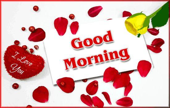 Good Morning Honey Quotes: Good Morning Sweet Heart Greeting Ecard ! Flower, Heart