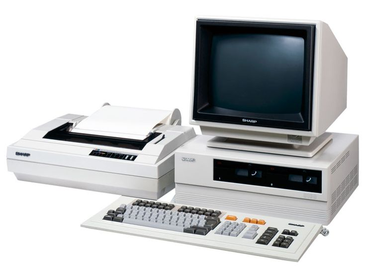 Sharp rolled out the OA-8100, the industry's first UNIX office automation processor, in June 1983. Check out this offer for a faxmachine trial account!