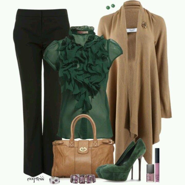 Qué bonito tono de verde
