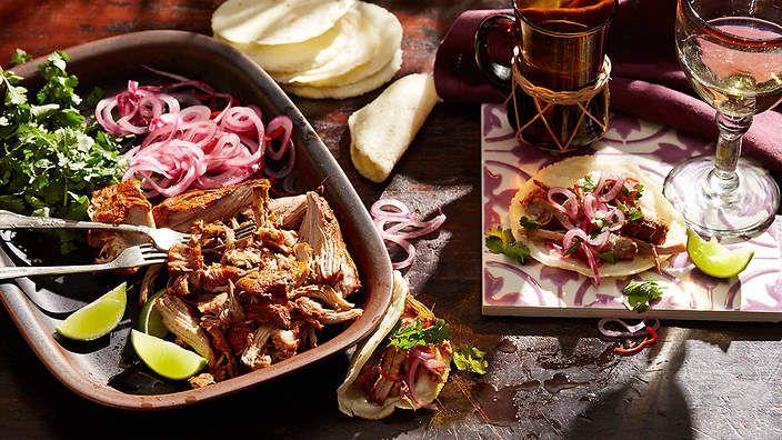 Achiote-roasted #pork (cochinita pibil) recipe : SBS Food