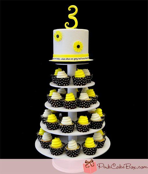 Birthday Cupcake Stand