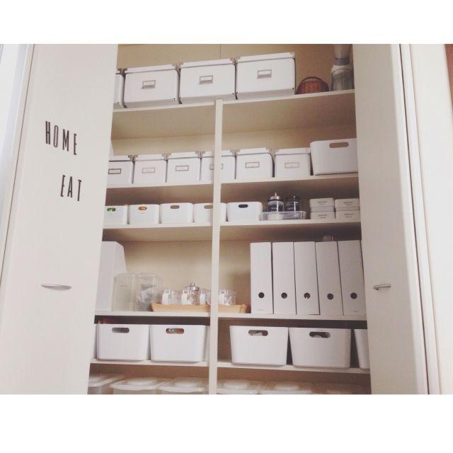 無印良品/無印/IKEA/収納/キッチン収納/真っ白…などのインテリア実例 - 2014-12-13 06:02:04 | RoomClip(ルームクリップ)