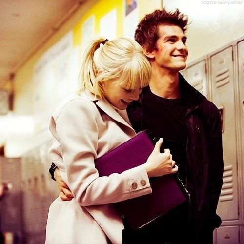 peter parker & gwen stacy (the amazing spider man)