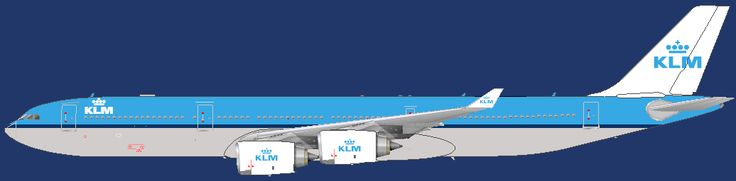 KLM - Royal Dutch Airlines Airbus A340-500