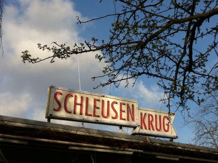 Schleusen Krug