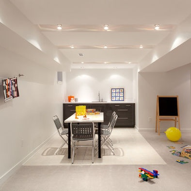 Recessed track lighting