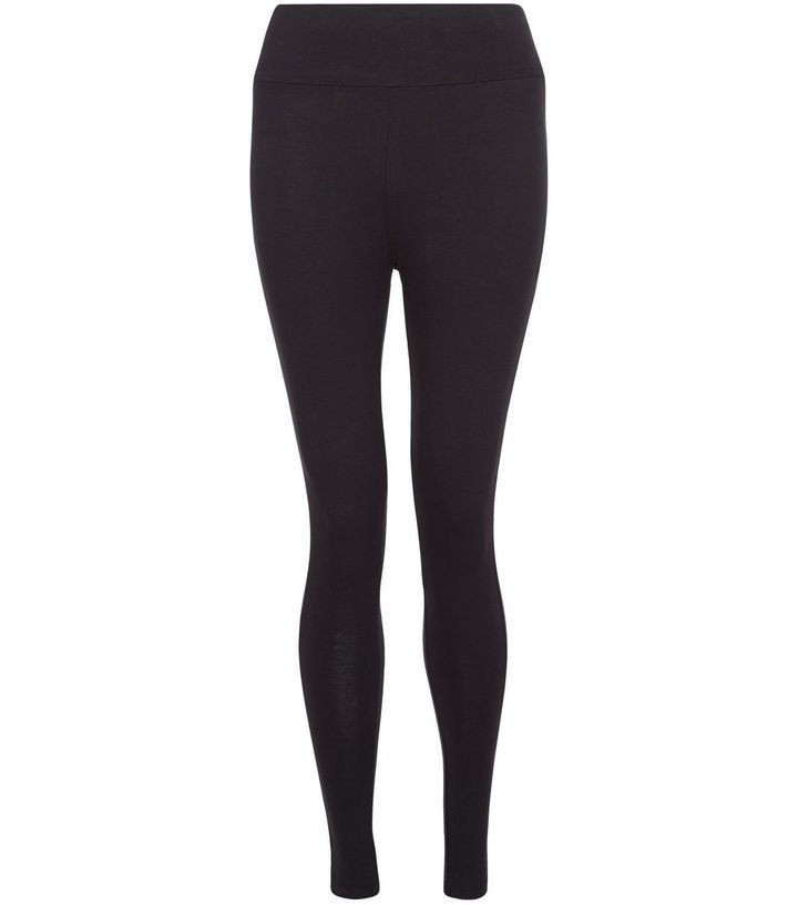 Petite - Leggings noir taille haute  | New Look