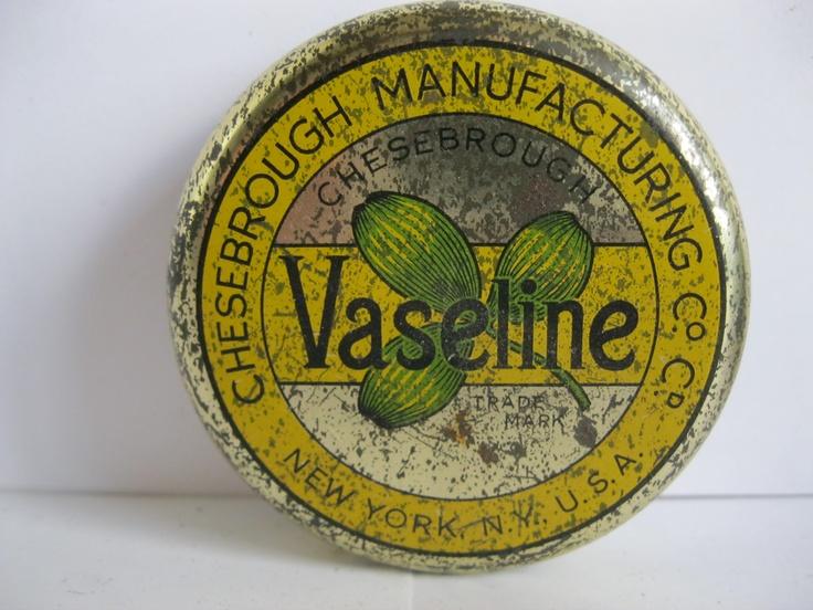 imagen de vaselina  perfumada carteles antiguos