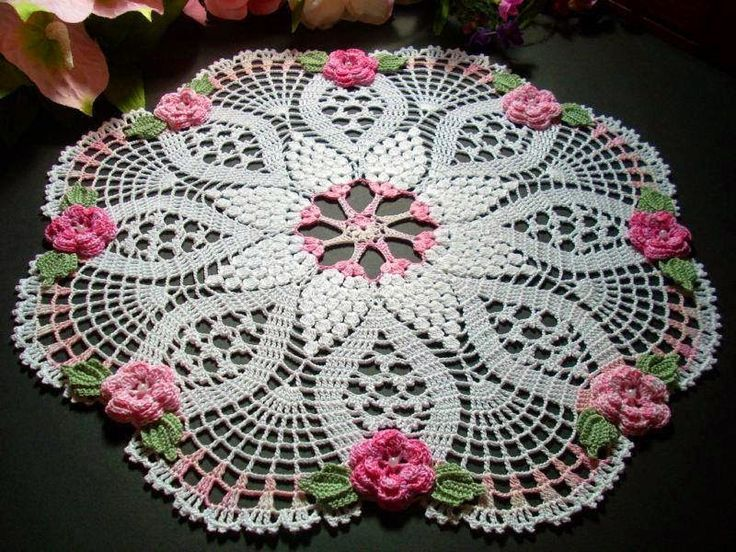 FREE DIAGRAMS ~ C ~ Crochet: Doilies