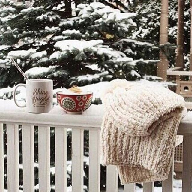 It's starting to smell like #winter! Enjoy your day with #hot #cocomilk and warm #blanket!