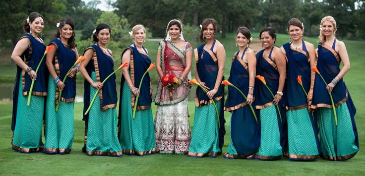 Top 15 Indian Bridesmaids Dresses | Mine Forever