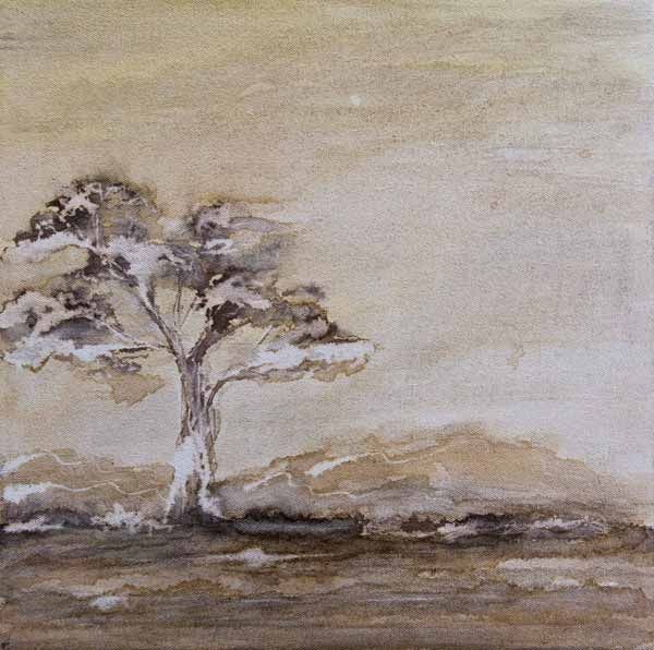 """""""Bushveld Peace Filled Immensity 0"""" by Melanie Meyer from her Emergence Art Gallery in Cape Town"""