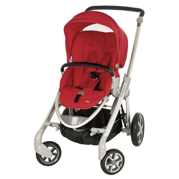 Maxi-Cosi Elea kinderwagen   Intense Red 2011  De Maxi-Cosi Elea is een comfortabele en compacte kinderwagen ideaal voor in de stad. De Elea is door het volledig verstelbare stoeltje geschikt vanaf de geboorte tot 15 kg ca. 3 jaar en kan in combinatie met een Maxi-Cosi autostoeltje of reiswieg eenvoudig worden omgetoverd tot een 3-in-1-reissysteem. De Maxi-Cosi Elea beschikt over diverse handige functies en opties. Het ruime en bijzonder zachte stoeltje kan voorwaarts of naar de ouder worden…