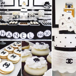 CHANELCoco Chanel, Chanel Parties, Design Cake, Food Ideas, Cake Design, Parties Ideas, Parties Theme, Chanel Inspiration, Forever Chanel